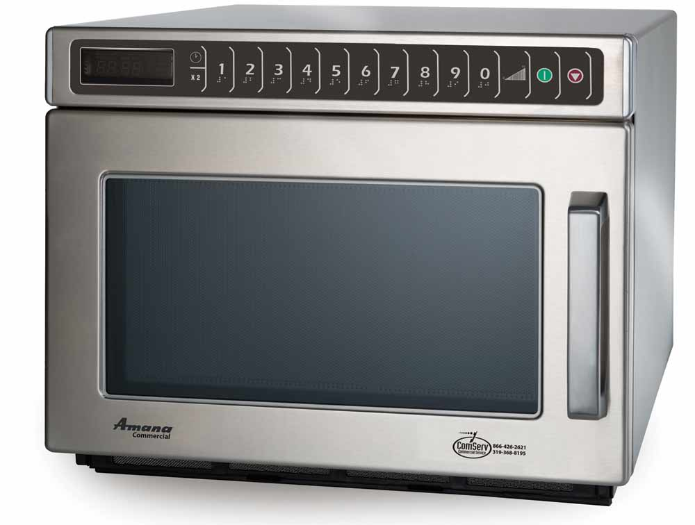 Commercial Microwave Oven Amana Hdc182 Microwave 1800 Watts