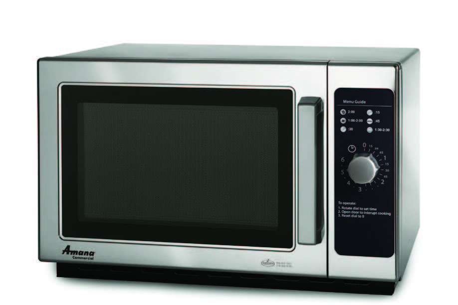 Commercial Microwave Oven Amana Rcs10ds Microwave 1000 Watts