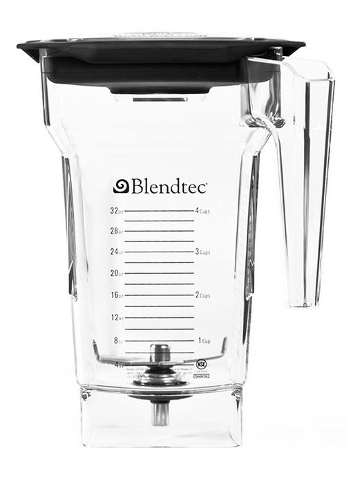 Blendtec Smoother Q Series 15 amp Commercial Blender with WildSide Jars