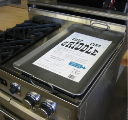 Chef King Griddles All Steel Griddle Plates Commercial