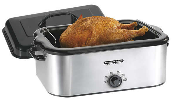 ... Beach Automatic Roaster Oven - Bake and roast on your counter-top