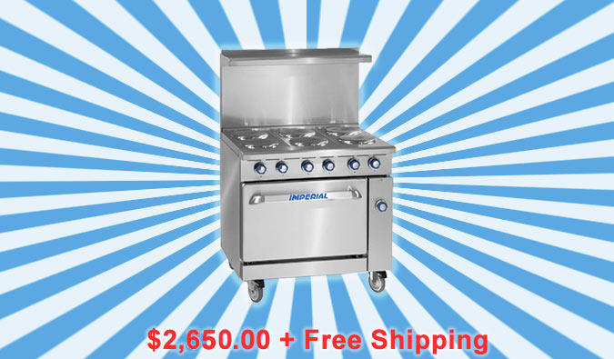 Imperial Range Restaurant Fryers, Ranges, Ovens and Accessories on