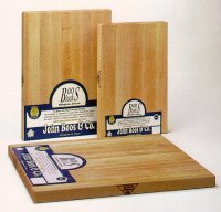 Professional Maple block cutting boards by Boos