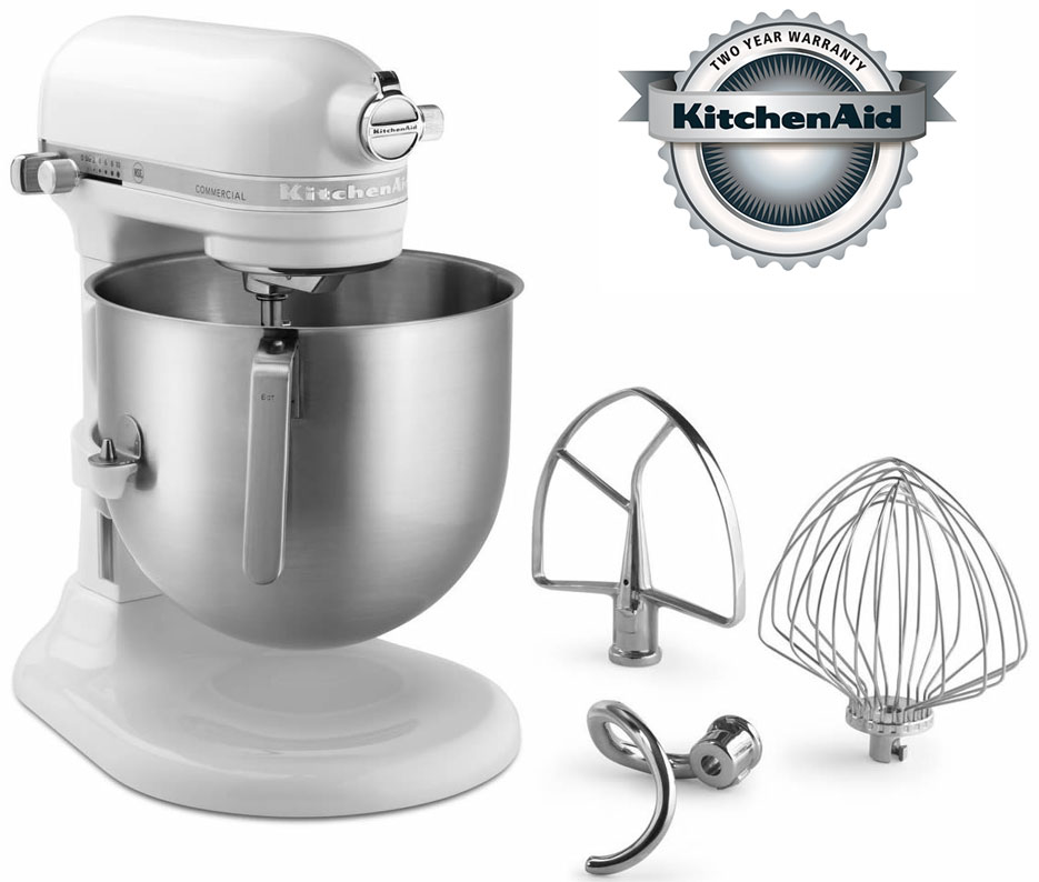 Superbe New KitchenAid Mixer With 8 Quart Capacity. NSF Certified Mixer For  Commercial Use. Item # KSM8990WH Price: $629.00 With Free Shipping!