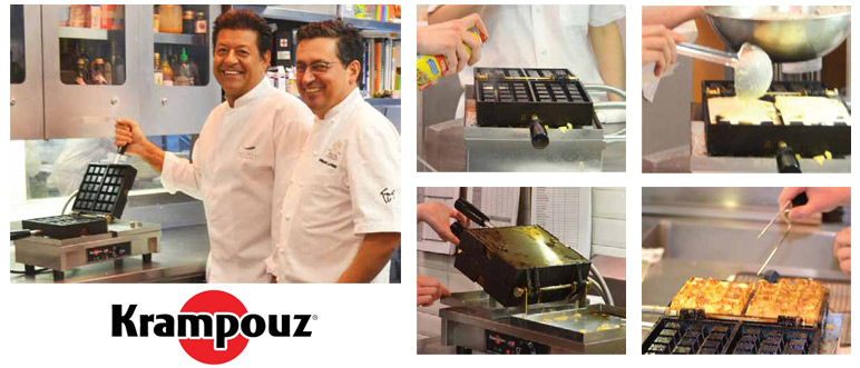 Krampouz Waffle Makers are chosen by top chefs