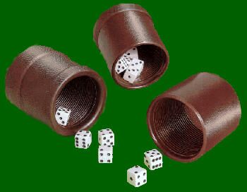 Dvorsons Dice And Accessories - Vinyl dice cup