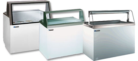 Ice Cream Freezers and Frozen Food & Dairy Merchandisers by ...