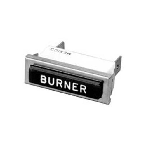 Indicator Light for Burner on Montague 115A/G/S/X/Z series
