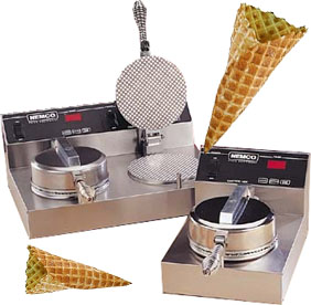 Waffle Cone Bakers from Nemco