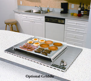 Optional Griddle Accessory Profire Indoor Grill Installation