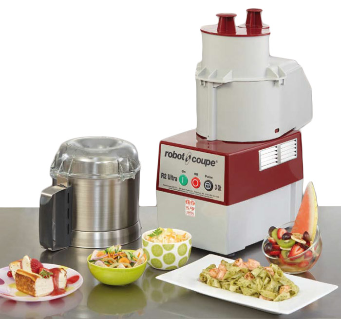 Robot Coupe is the tool for fine cuisine preparation