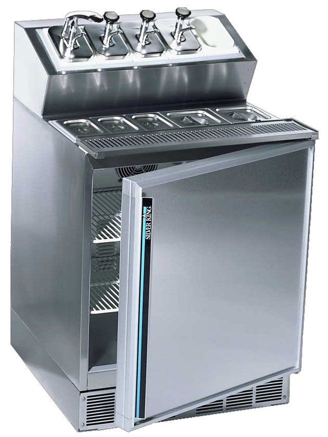 Silver King Prep Stations Chef Bases Ice Cream Cabinets
