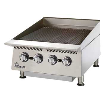 Ultra-Max Gas Char-Broiler, 24