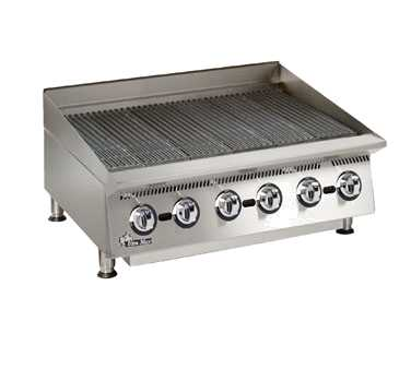 Ultra-Max Gas Char-Broiler, 36