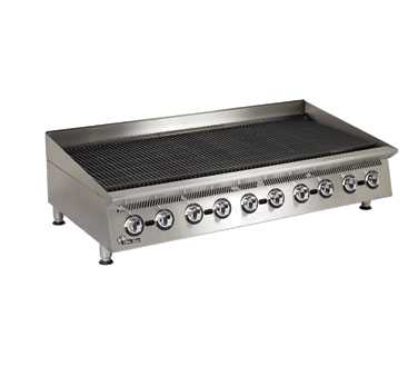 Ultra-Max Gas Char-Broiler, 60