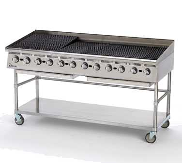 Ultra-Max Gas Char-Broiler, 72