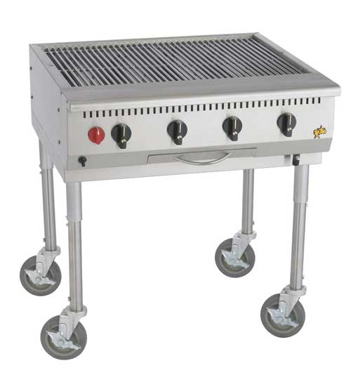 Star-Max Commercial Outdoor Char-Broiler, 30