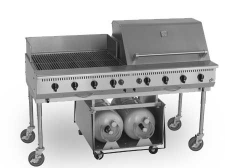 Star-Max Commercial Outdoor Char-Broiler, 60