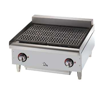 Star-Max Electric Char-Broiler, 24