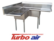 Stainless Steel Corner Sinks