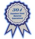 Guaranteed highest quality 304 series stainless steel