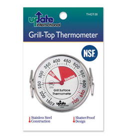 Griddle or Grill Surface Thermometers, 150-700 degrees