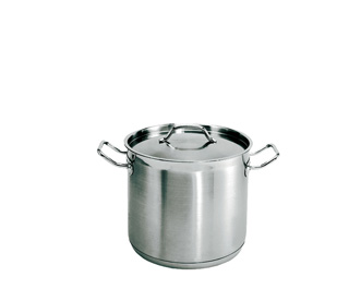 8 Quart Stainless steel stockpot with matching lid