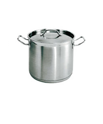 12 Quart Stainless steel stockpot, with lid