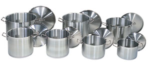 Stock Pots and Sauce Pans from Update