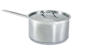 2 Quart Stainless steel sauce pan with matching lid