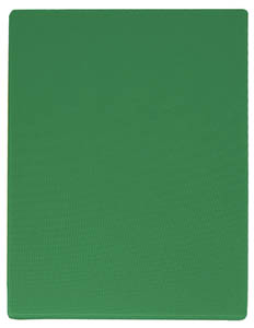 Professional Plastic Cutting Board Green 12 x 18 inches