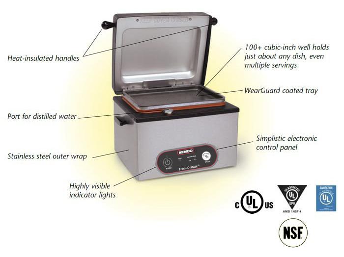 Nemco Hot Dog Steamer Instructions