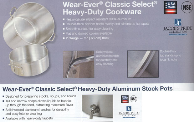 Wear Ever Classic Heavy Duty Cookware
