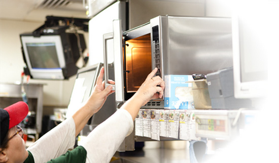 Fast Paced Kitchens Rely On Amana Commercial Microwaves