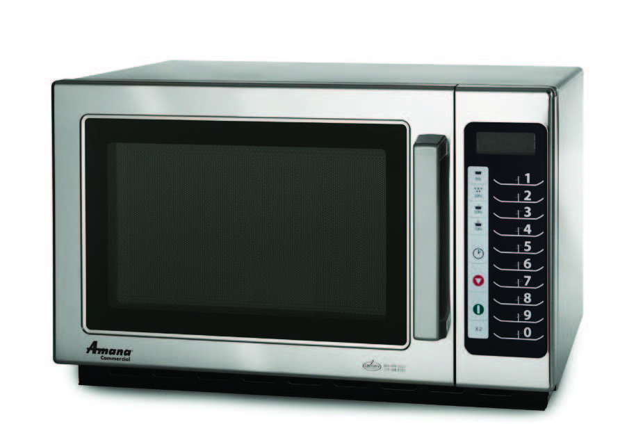 Commercial Microwave Oven Amana Rcs10ts 1000 Watts