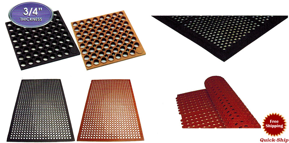 Commercial Kitchen Floor Mats For Restaurants With Special Anti Fatigue  Features