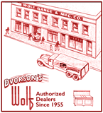 Dvorson's and Wolf Range have been partners since 1955