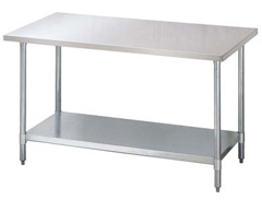 We offer the highest quality 304 series stainless steel work tables and more