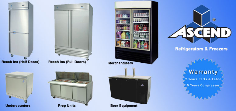 Ascend Refrigeration Products