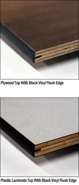 Edge Options For Maywood Tables