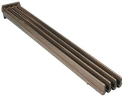 Grate, Cast Iron, 4 bar (21