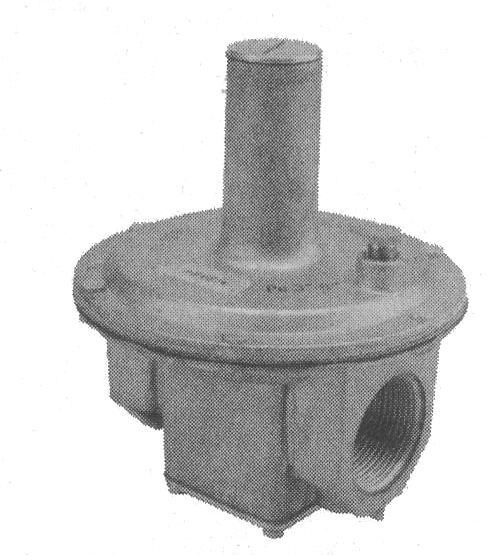 Gas Pressure Regulators (Natural Gas, 1-1/4 inch NPT)