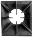 Grate, Burner (front or rear single burner grate)