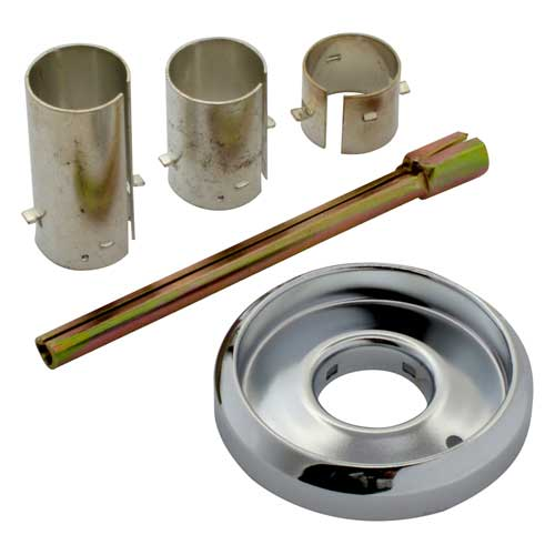 Bezel adapter kit for Wolf Range Challenger thermostats