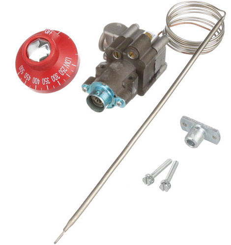 Thermostat, Oven Themostat Kit for Vulcan 77, 77R, SG77 series, includes knob