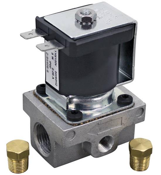 Solenoid Gas (120V, 3/8