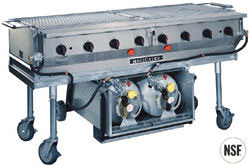 MagiCater LPAGA series grills