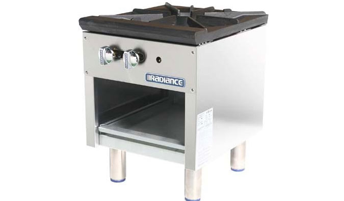 Turbo Air Radiance Heavy Duty Cooking Ranges Ovens