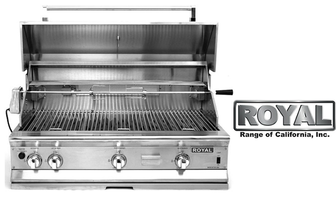 Royal Range Outdoor Bbq Grills