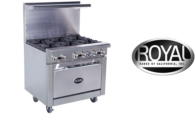 Royal Range Commercial Restaurant Ranges